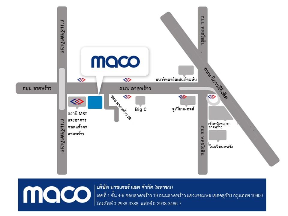 MACO Map